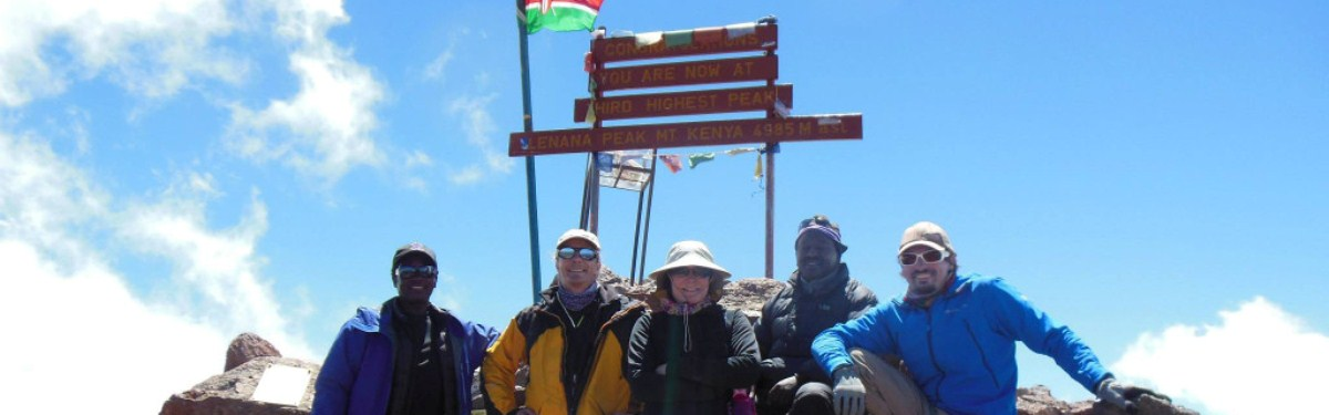 7 Day Sirimon Chogoria Mount Kenya Trek