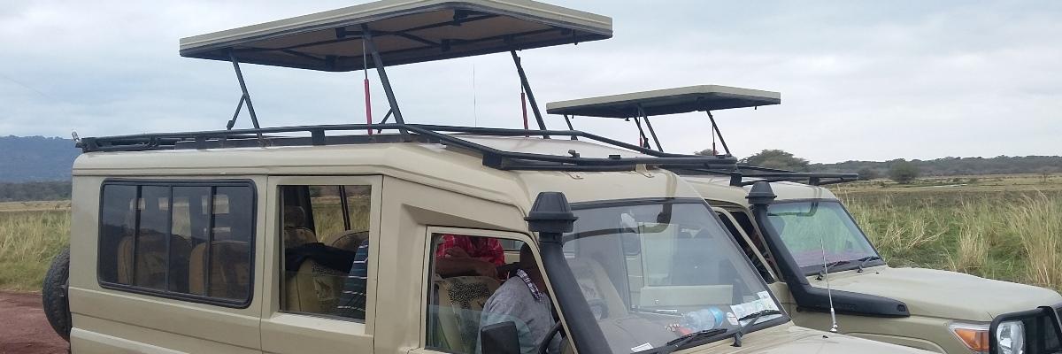 Our Safari Vehicle