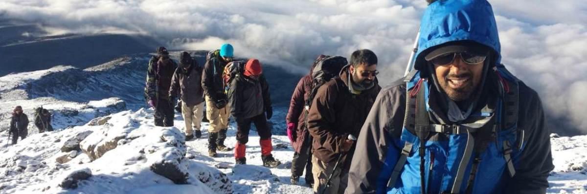 8 Days Kilimanjaro Climbing lemosho Route