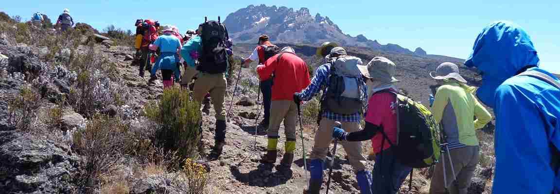 6 Days Kilimanjaro Trekking